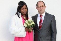 Nana Kadidia Erlacher-Toure und Richard Erlacher