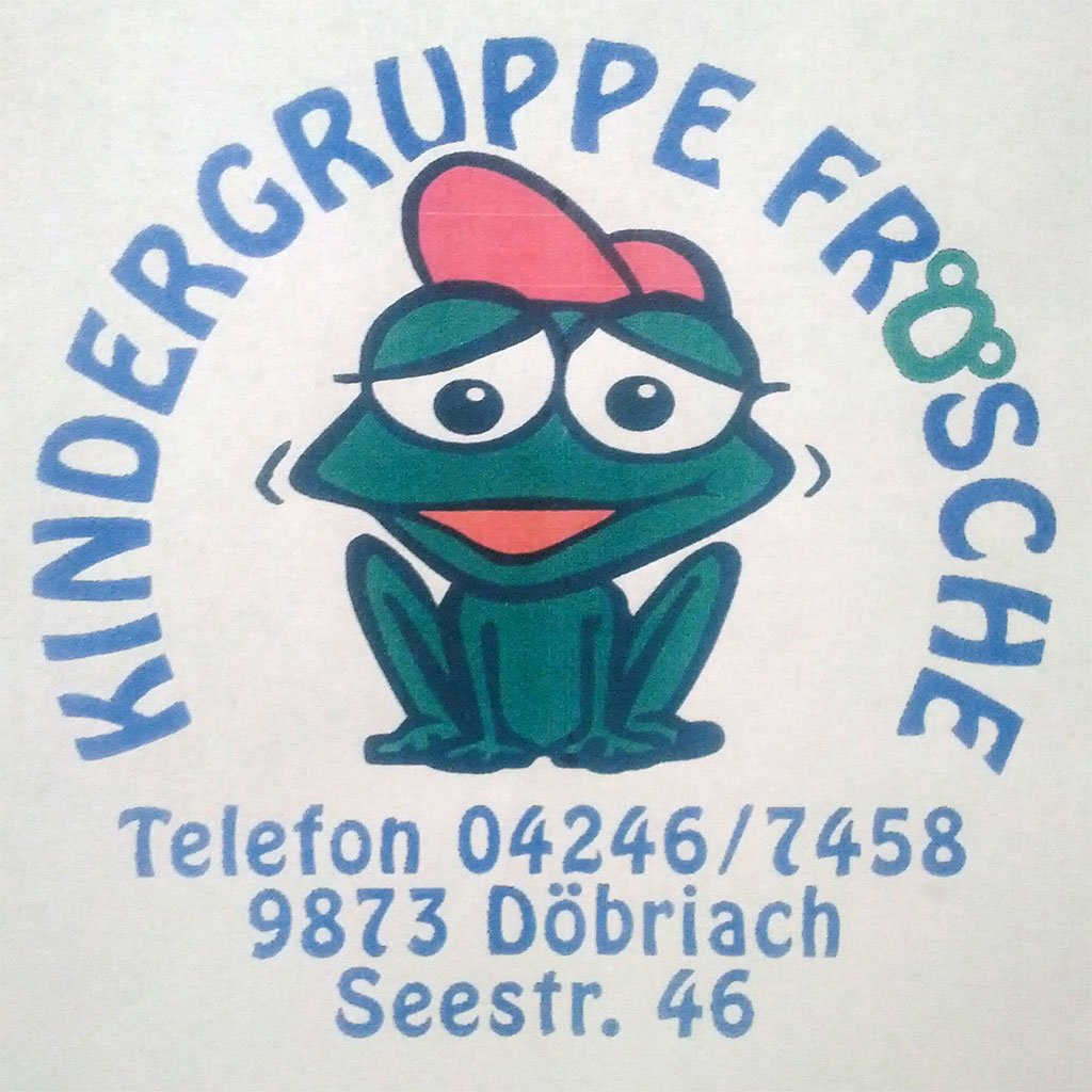 Kindergruppe Frösche Logo